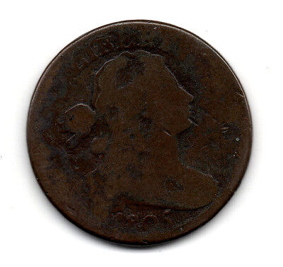 1805 Draped Bust Large Cent Average Condition