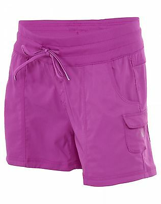 North Face Aphrodite Pull On Shorts Womens CFQ6-G07 Magic Magenta Shorts Size M