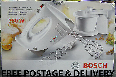 New Sealed Boxed Bosch 350W Hand Mixer Set MFQ3555GB