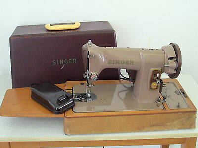 Singer 185K Electric Heavy Duty Sewing Machine Spares or Repair