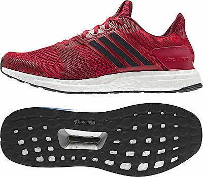 adidas Ultra Boost ST Mens Running Shoes - Red
