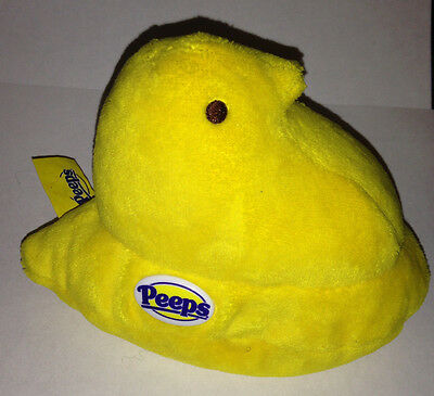 "PEEPS Plush 6"" Yellow Chick 2005 Just Born"