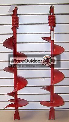 """EA8F Ardisam Earthquake Earth Auger Bit 8"""" Fence Post Hole Digger FACTORY SECOND"""