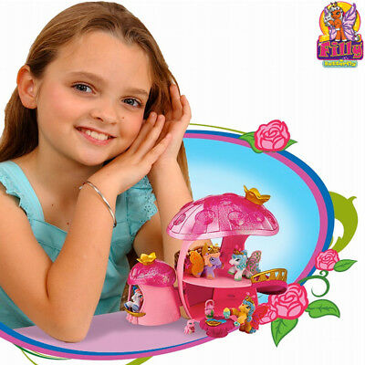 Filly Butterfly La Casa Fungo Con Scivolo Play Set + 2 Personaggi Bambine Giochi