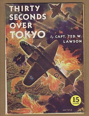 Thirty Seconds Over Tokyo (VG-) David McKay American Library 1943 Movie (c#06091