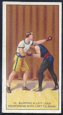 Carreras-The Science Of Boxing Series (Black Cat Back)-#10- Quality Card!!!