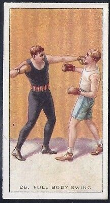 Carreras-The Science Of Boxing Series (Black Cat Back)-#26- Quality Card!!!