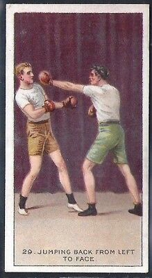 Carreras-The Science Of Boxing Series (Black Cat Back)-#29- Quality Card!!!