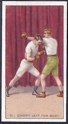 Carreras-The Science Of Boxing Series (Black Cat Back)-#31- Quality Card!!!