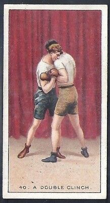 Carreras-The Science Of Boxing Series (Black Cat Back)-#40- Quality Card!!!