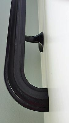 Wrought Iron Handrail 4.5 Ft Code Compliant Hand Rail Railing Handrail Painted