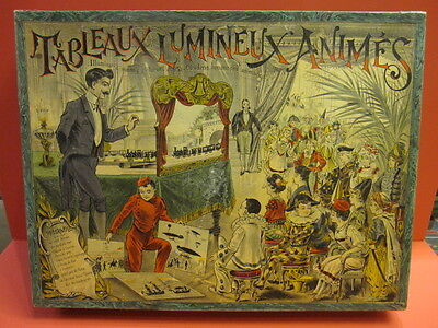 All Original Large Theater Illuminated Moving Pictures Saussine France 1900