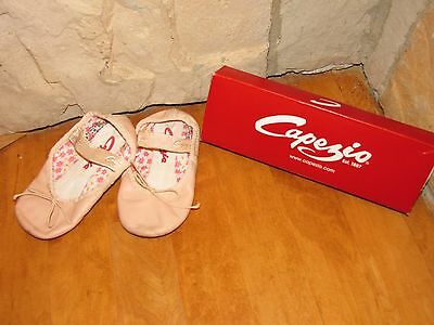 Toddler Capezio Pink Ballet Slippers Dance Shoes - Size 9.5
