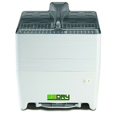 Excalibur EPD60W EZDRY 6-Tray Snack-Size On/Off Dehydrator, White