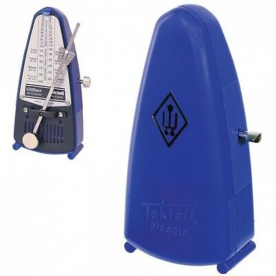 Wittner Taktell Piccolo Keywound Metronome- Blue   #837  New-Free Shipping