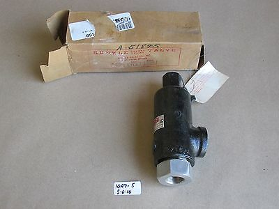 "New In Box Kunkle 3/4"" Threaded Relief Valve Fig. 71 S   310 Psi  Cap: 36.4"