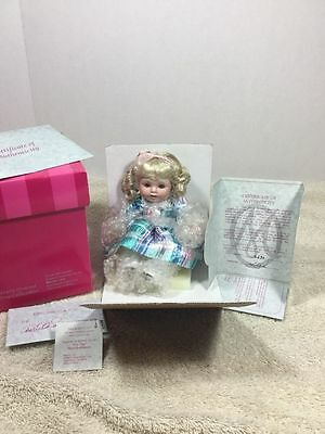 Marie Osmond Angelica's 1st Birthday Tiny Tot Nib #3695