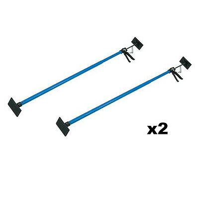 2 x Drywall Plasterboard Builders Adjustable Easy Props NEW
