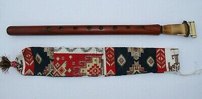 DUDUK ARMENIAN + carpet style CASE , NEW FROM ARMENIA, Hand made APRICOT WOOD