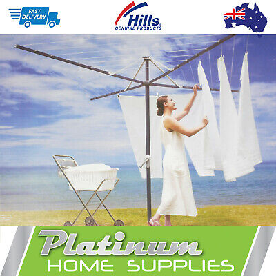 New Hills Clothesline 47 Hoist Large Clothes line Everyday Clotheslines Rotary