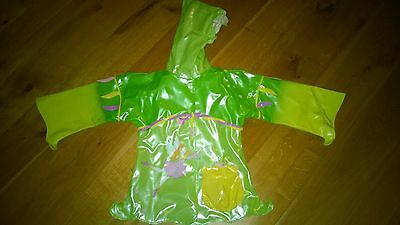 Girls Todlers Forest Fairy Green Waterproof SIZE 6-7 YR, 116-122 CM NEW & UNUSED
