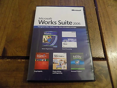 Microsoft Works Suite 2006 PC-DVD Rom