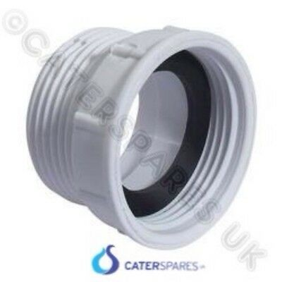 Plastic Trap Adaptor For Deep Stainless Catering Sink Waste Standpipe Plug 1½""