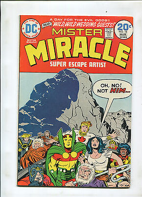 Mister Miracle #18 (8.0) Darkseid Cover!