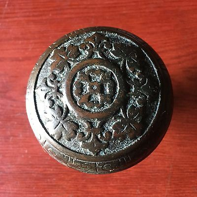 Antique Collectible Gothic/Grec Entry Knob From Corbin Late 1870s #A
