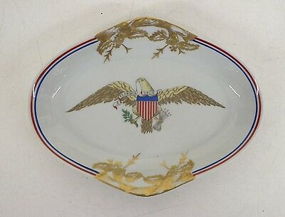 Vintage Mottahedeh United States Department of State Reception Room Dish GREAT
