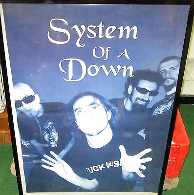 System Of A Down Poster  Rare New Poster Mid 2000's Vintage