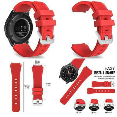 RACE RED Wristband Band Bracelet Strap Accessories For SAMSUNG GEAR S3