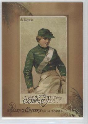 1888 Allen & Ginter Racing Colors of the World #EDCO Ed Corrigain 1/1 Card 2p7