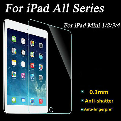 """Premium Tempered Glass Slim Screen Protector for Apple iPad 2 3 4 Air Pro 9.7"""""""