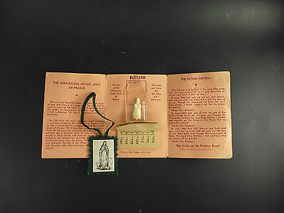 1954 Blessed Calendar Brochure With Baby Jesus