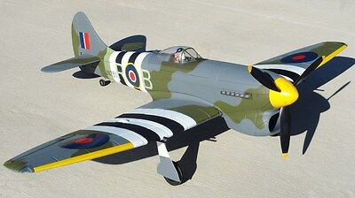Large 1/7 scale HAWKER TEMPEST MK-5 scratch build R/c Plane Plans  61.5 in WS