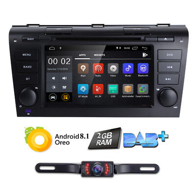 Quad-Core Android 7.1 Car DVD GPS Navi Multimedia system for Mazda 3+Back Camera