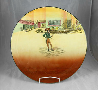 Fabulous Rare  Royal Doulton Dickens Ware Alfred Jingle Very Large Platter
