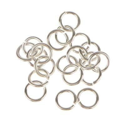 20x Sterling Silver Split JUMP RINGS Findings for Jewelry Making Craft 4mm