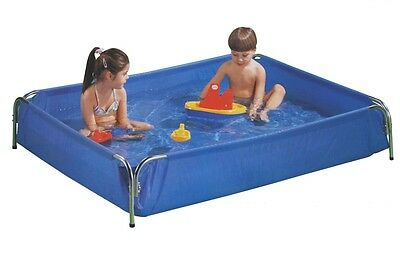 Kids Splash Wading Pool, Galvanised Metal Frame, Toddler Wade - Easy Assembley