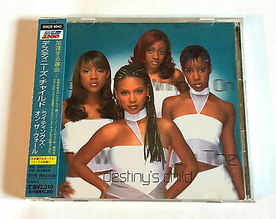 DESTINY'S CHILD The Writing's On The Wall +1 JAPAN CD 1999 w/OBI Beyonce