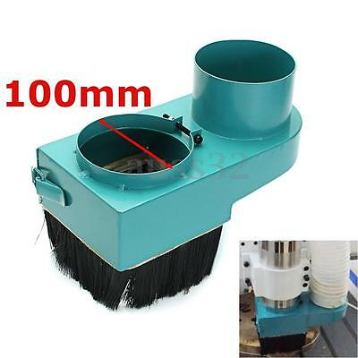 100mm Spindle Dust Dustproof Shoe Vacuum Cleaner Cover For Woodwork CNC Router