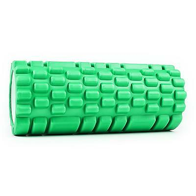 New Green Foam Roller Home Exercise Back Pain Reliever Personal Muscle Massager
