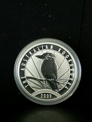 2009 Kookaburra 1oz silver bullion coin Perth Mint .999