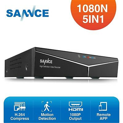 SANNCE 1080N 8CH TVI DVR h.264+ HDMI P2P Video Recorder QR Code Security System