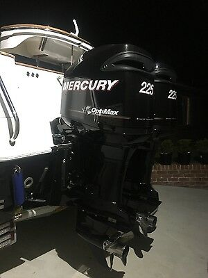 Outboard Engines x2 225hp
