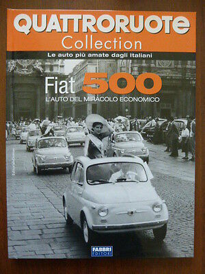 rare book FIAT 500  - 50 pages hard cove