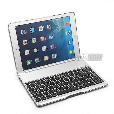 Folio Ultra Slim Bluetooth 3.0 Keyboard with Cover Case Stand for iPad Air 1