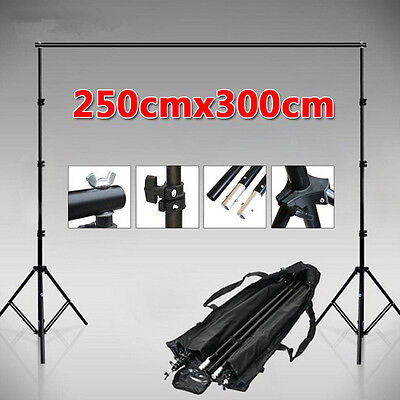 2.5x3m Photography Photo Studio Video Backdrop Background Support Stand / Bag