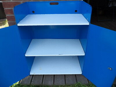 FRENCH VINTAGE RETRO FOLDING CAMPING CUPBOARD LARDER VW or Camping